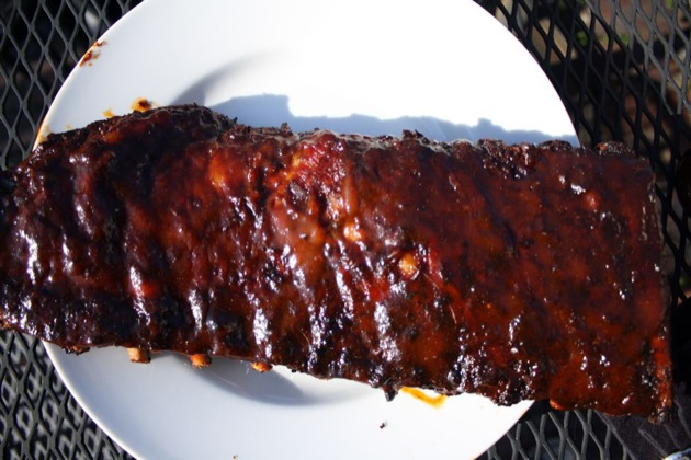 how to cook barbecue ribs