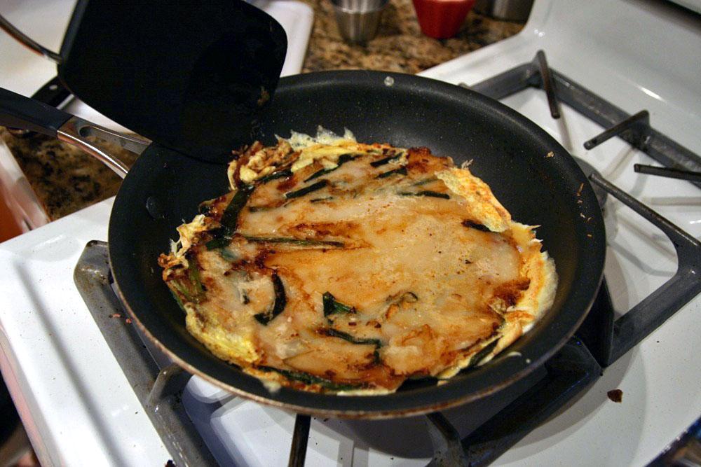 Pajeon, the Korean Scallion Pancake | The Paupered Chef