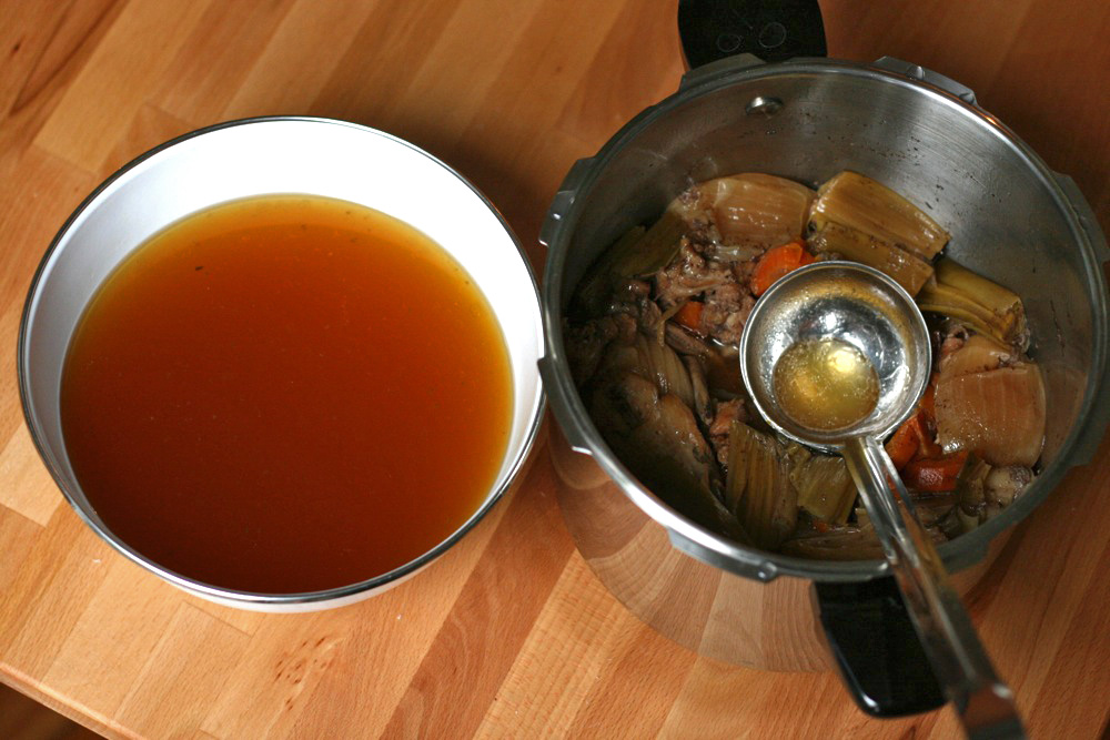 Under Pressure: How To Make Superb Chicken Stock In About ...