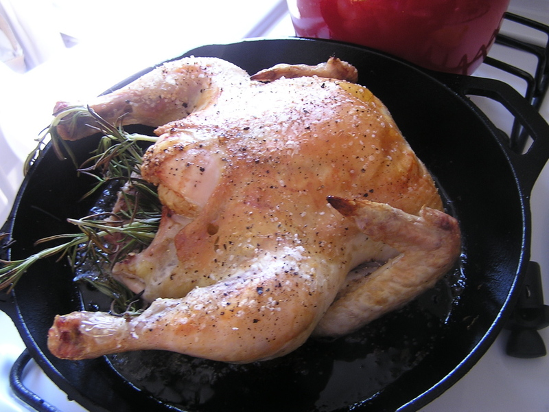 fasted roast chicken 3