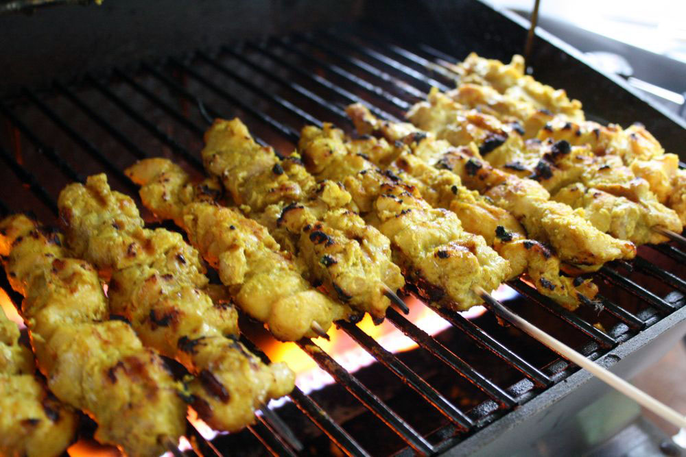 chicken satay 12