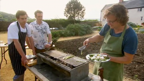 Hugh Fearnley Whittingstall Grilled Onions