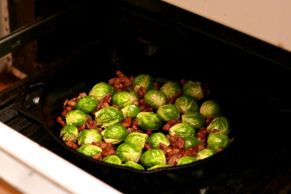 Brussels-sprouts-under-broiler